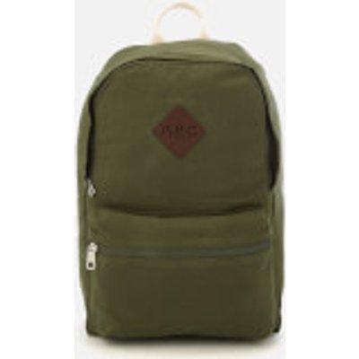 A.P.C. Men's Sadie Backpack - Kaki Militare