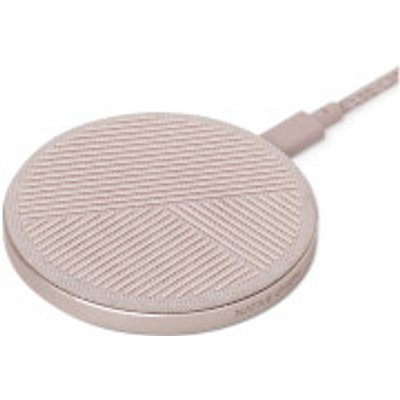 Native Union Drop Fabric Charging Pad - Rose, Pink