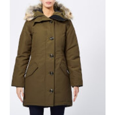 Canada Goose Women's Rossclair Parka - Military Green - L - Green