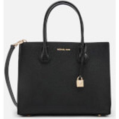 MICHAEL MICHAEL KORS Women s Mercer Large Convertible Tote Bag Lizard   Black - 192317863116