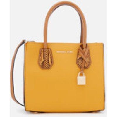 MICHAEL MICHAEL KORS Women s Mercer Medium Messenger Bag   Marigold - 192317862676