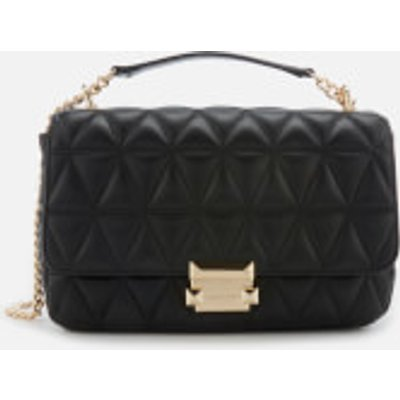 MICHAEL MICHAEL KORS Women s Sloan Large Chain Shoulder Bag   Black - 190864491264