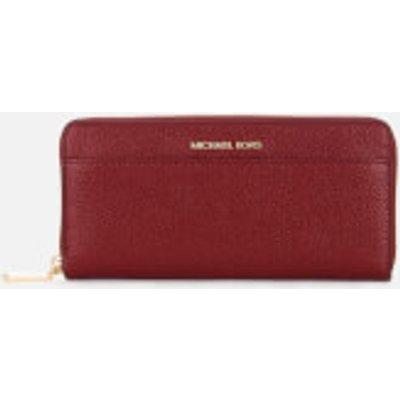 MICHAEL MICHAEL KORS Women s Money Pieces Pocket Continental Wallet   Maroon - 192317884746
