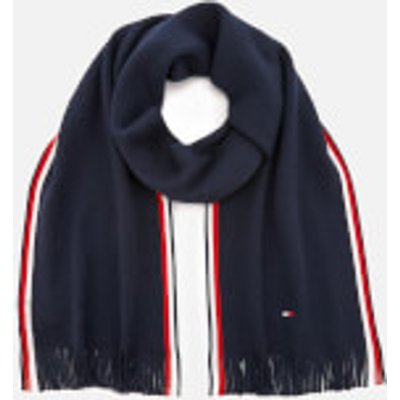 Tommy Hilfiger Men s Corporate Edge Scarf   Navy - 8719704556110