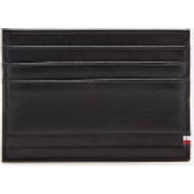 Tommy Hilfiger Men s Selvedge Embossed Card Holder   Black - 8719704558886