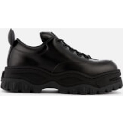 Eytys Angel Leather Chunky Trainers - Black - UK 9
