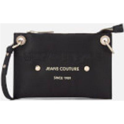 Versace Jeans Women s Logo Cross Body Bag   Black - 8057006668019