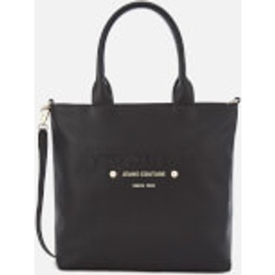 Versace Jeans Women s Logo Print Shopper Bag   Black - 8057006667937