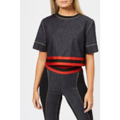 NO KA'OI Women's Hia T-Shirt - Jeans/Red - S - Black
