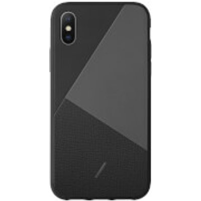 Native Union Clic Marquetry iPhone Xs Case - Black
