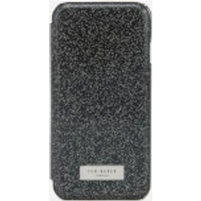 Ted Baker Women's Glitsie Glitter iPhone 8 Mirror Case - Black