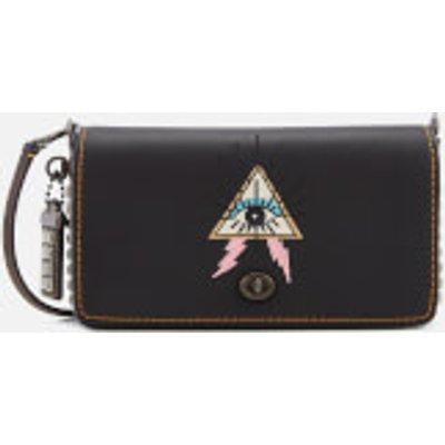 Coach 1941 Women's Pyramid Eye Dinky Cross Body Bag - Black