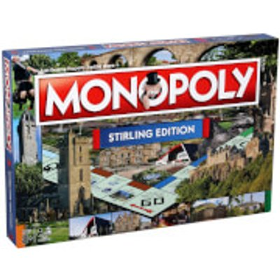 Monopoly Board Game - Stirling Edition