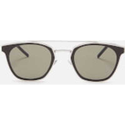 Saint Laurent Aviator Style Sunglasses - Silver