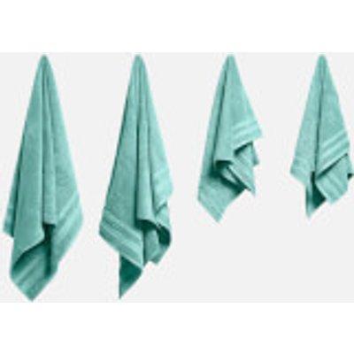in homeware Supersoft 100  Cotton 4 Piece Towel Bale   Duck Egg - 5056281109777