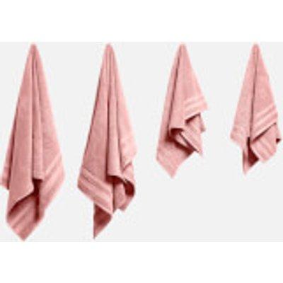 in homeware Supersoft 100  Cotton 4 Piece Towel Bale   Blush - 5056281109791
