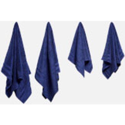 in homeware Supersoft 100  Cotton 4 Piece Towel Bale   Navy - 5056281109807