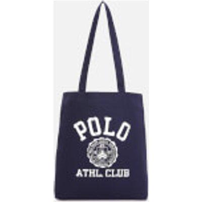 Polo Ralph Lauren Men s Cotton Twill Canvas Tote Bag   Navy - 3615734168536