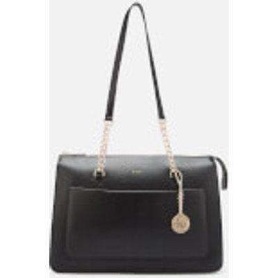 DKNY Women's Bryant Large Tote Bag - Black/Gold