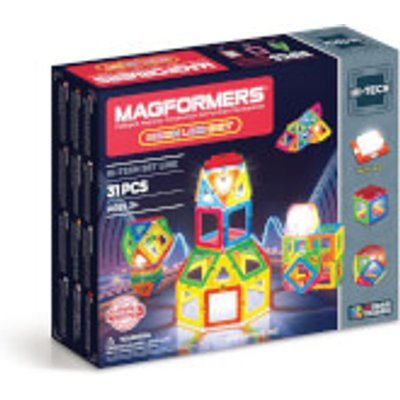 Magformers Neon LED Set - 31 Pieces