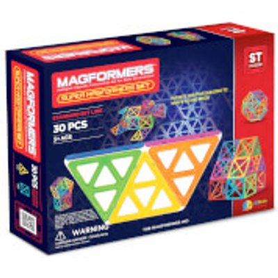 Magformers Super Magformers Set - 30 Pieces
