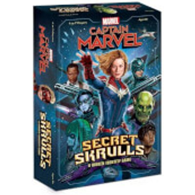Captain Marvel Board Game - Secret Skrulls
