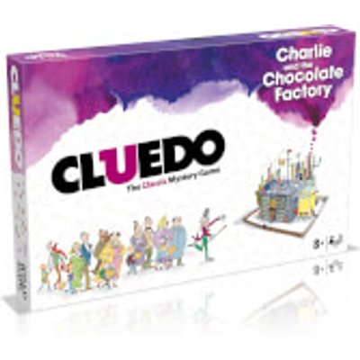 Cluedo Mystery Board Game - Charlie and the Chocolate Factory Edition