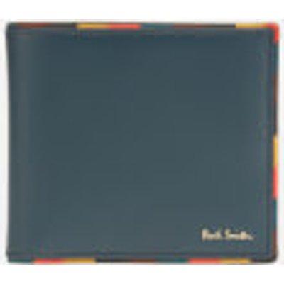 PS Paul Smith Men's Billfold Striped Edge Wallet - Black