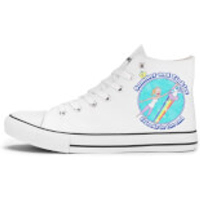 Rick and Morty Summer And Tinkles Shoes - White - UK 11 / EU 46 - White