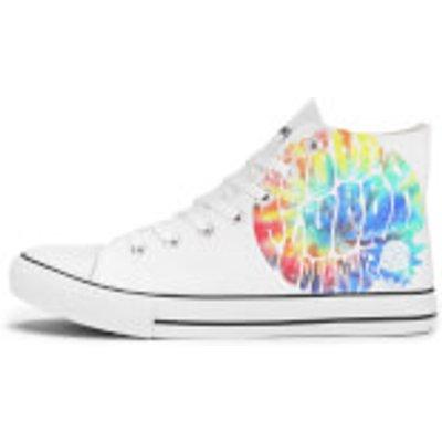 Rick and Morty Wubba Lubba Dub Dub Rainbow Shoes - White - UK 11 / EU 46 - White