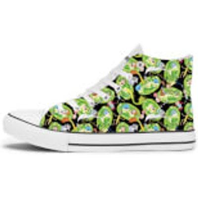 Rick and Morty Portal Shoes - White - UK 10 / EU 44 - White