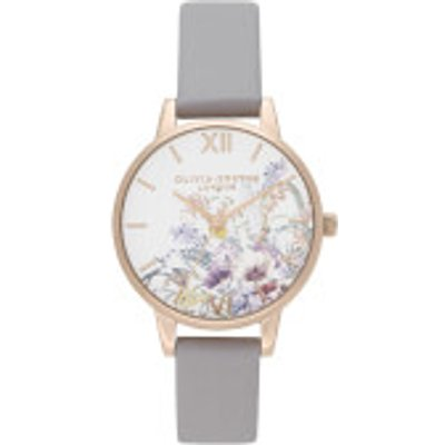 Olivia Burton Women s Enchanted Garden Watch   Grey Lilac - 7613272366212