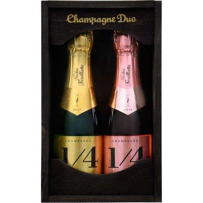 Nicolas Feuillatte Champagne Mini Duo