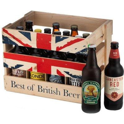 Best of British Beer Crate x12