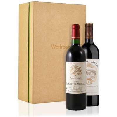 Bordeaux Wine Duo Gift Box