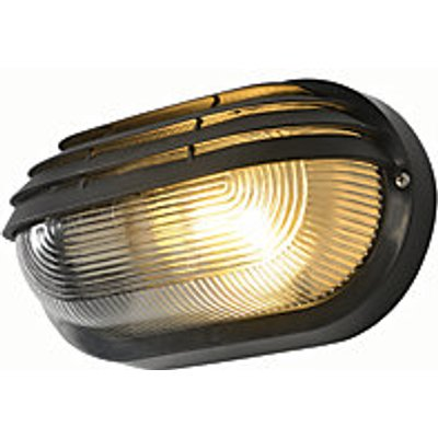 Coast Puck Black Oval Eyelid Bulkhead Light - 60W