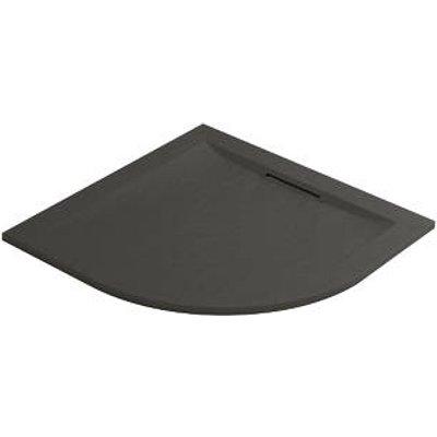 Mira Flight Level Quadrant Shower Tray Slate Grey 800 x 800 x 25mm (108PJ)