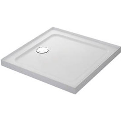 Mira Flight Safe Square Shower Tray with 4 Upstands White 900 x 900 x 40mm (1239X)