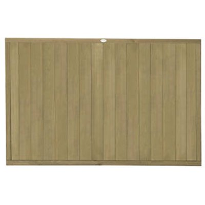 Forest VTGP4PK4HD Vertical Tongue & Groove Fence Panel 6 x 4