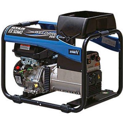 SDMO 200E 4000W 200A DC Portable Generator & Welding Set 110 / 230V (1825F)