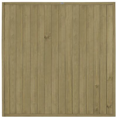 Forest VTGP6PK5HD Vertical Tongue & Groove  Fence Panel 6 x 6