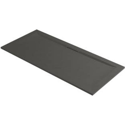 Mira Flight Level Rectangular Shower Tray Slate Grey 1500 x 800 x 25mm (204PJ)