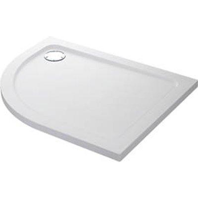 Mira Flight Safe Offset Quadrant Shower Tray RH White 1000 x 800 x 40mm (2207X)