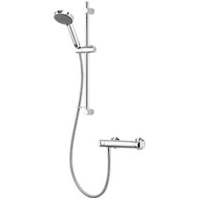 Aqualisa  Rear-Fed Exposed Chrome Thermostatic Mixer Shower (22227)