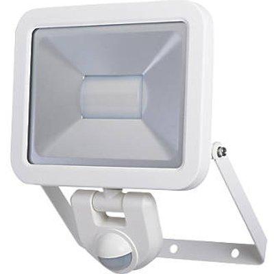 LAP Weyburn Outdoor LED Floodlight With PIR Sensor White 30W 2400lm (224FX)