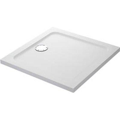 Mira Flight Safe Square Shower Tray White 1000 x 1000 x 40mm (2255X)