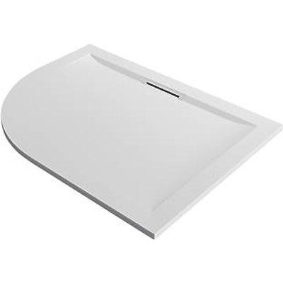Mira Flight Level Safe Offset Quadrant Shower Tray RH White 1200 x 900 x 25mm (226PJ)