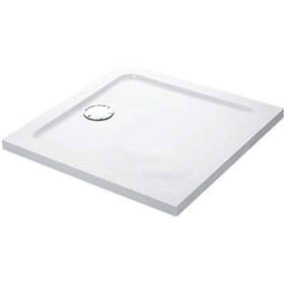 Mira Flight Low Square Shower Tray White 800 x 800 x 40mm (2389X)