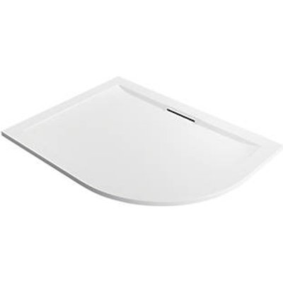 Mira Flight Level Offset Quadrant Shower Tray LH White 1200 x 900 x 25mm (238PJ)