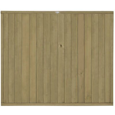 Forest VTGP5PK4HD Vertical Tongue & Groove Fence Panel 6 x 5